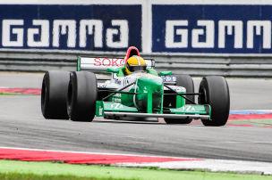 Formel-1-Fahrer mit 57