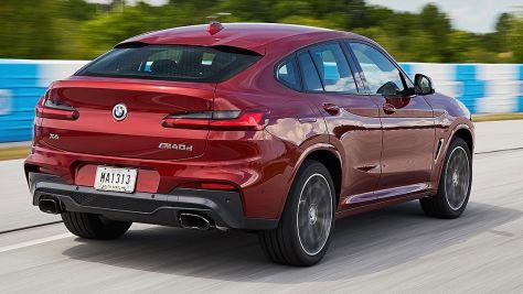 BMW X4 (2018): Unterhalt