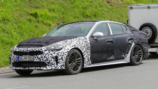 Kia testet Audi A5 Gegner
