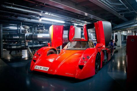 Die geheime Garage von Toyota Motorsport