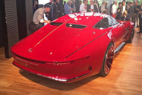 Vision Mercedes-Maybach 6 (2016): Erste Eindrücke