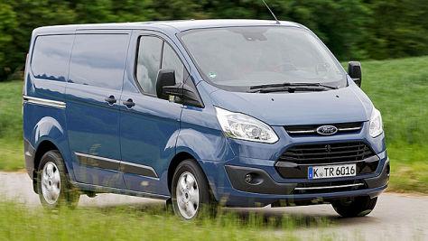 Ford Transit Custom: Fahrbericht