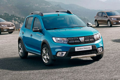 dacia sandero sandero stepway facelift 2016 motor preise. Black Bedroom Furniture Sets. Home Design Ideas