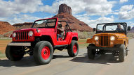 Jeep CJ-5 V8/Jeep Short Cut Concept: Test
