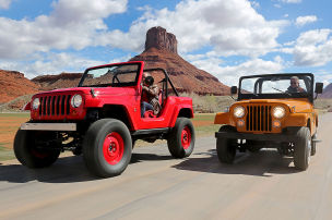 Jeep CJ-5 V8/Jeep Short Cut Concept: Test