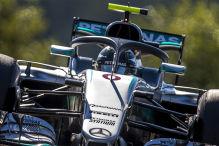 Rosberg mit Halo zur Bestzeit