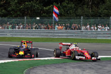 Formel 1: Ferrari vs. Red Bull