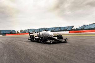 Formel E: Fahrerloser Rennbolide