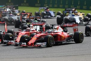 Formel 1: Gas und Bremse