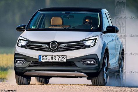 Opel Adam X/Rocks 2 (2018): Vorschau - autobild.de
