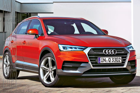 Audi Q3 L Illustration