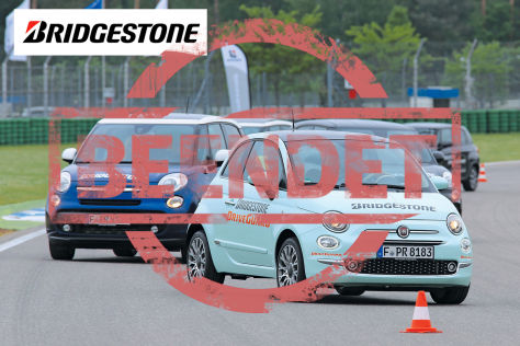 Partneraktion: Bridgestone Reifentest