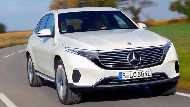 Video Mercedes Eqc 2021 Autobild De