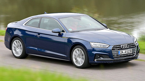 Audi A5 Coupé: Test
