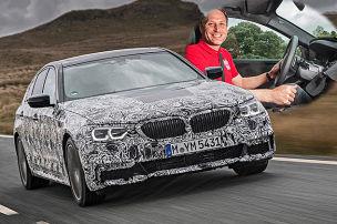 So f�hrt der neue BMW 5er