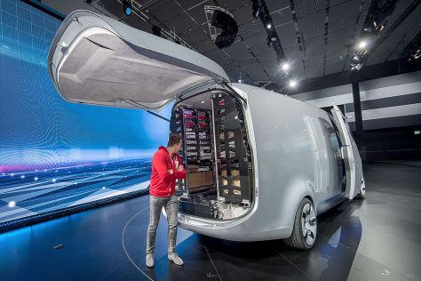 Mercedes Vision Van (2016): Vorstellung/Sitzprobe