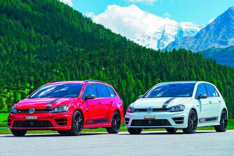 VW Golf R Sondermodelle: R360S und R360S Avant