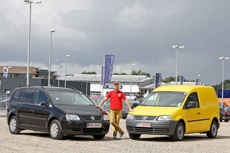 VW Touran, VW Caddy