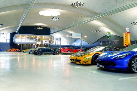 Garage für Superhelden