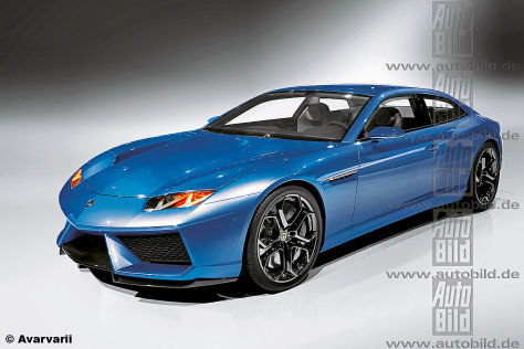 Lamborghini Espada Illustration