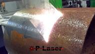 Laserstrahlen gegen Rost