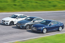 Audi A5/BMW 4er/Mercedes C-Klasse Coupé: Test