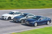 Audi A5/BMW 4er/Mercedes C-Klasse Coupé: Test
