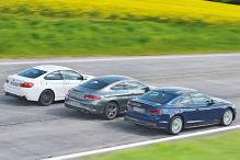 Audis A5 Coupé im Vergleich