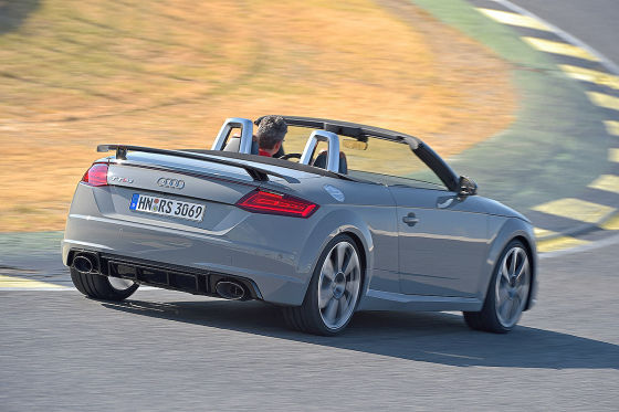 audi tt rs roadster im test 2016 fahrbericht preis ps. Black Bedroom Furniture Sets. Home Design Ideas