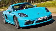 Porsche 718 Cayman: Test