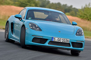 Porsche 718 Cayman: Test