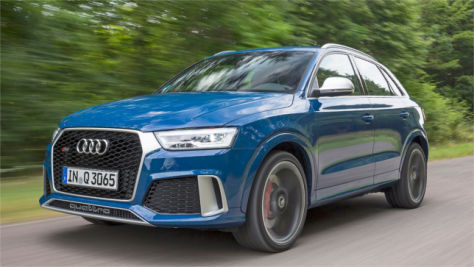 Audi RS Q3 performance: Test