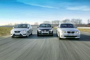 BMW 130i/Ford Focus ST/VW Golf V R32: Kaufberatung