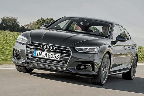Audi S5 Sportback (2017): Sitzprobe
