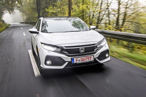 Honda Civic Fünftürer (2016): Sitzprobe