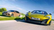 Bentley Bentayga/McLaren 675 LT Spider: Vergleich