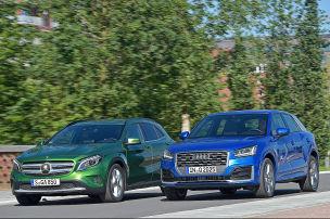 Audi Q2/Mercedes GLA: Test