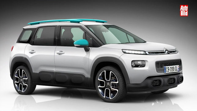 video mini suv citroen c3 aircross 2017. Black Bedroom Furniture Sets. Home Design Ideas