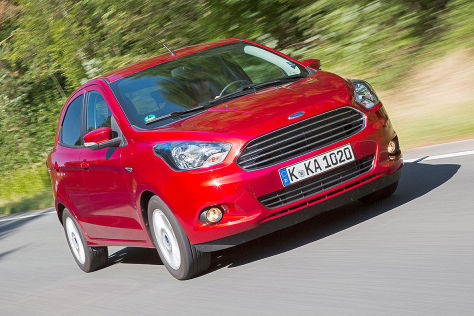 Ford Ka+ (2016): Fahrbericht