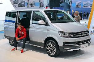 VW T6 Multivan PanAmericana (2016): Sitzprobe