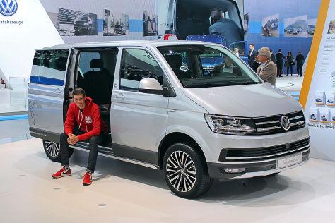 VW T6 Multivan PanAmericana (2016): Sitzprobe und Preis