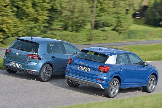 Audi Q2 VW Golf