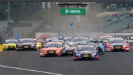 DTM: Start-Kollision in Ungarn