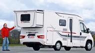 Adria Compact Plus SLS: Wohnmobil-Test
