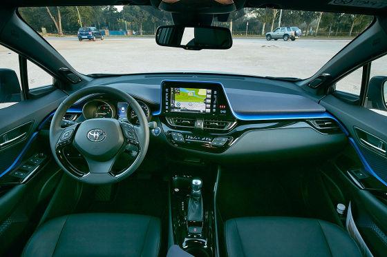 Toyota C-HR (2016): Sitzprobe
