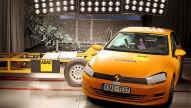 ADAC Crashtest: Beifahrerseite