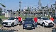 Kia Niro/Mitsubishi Outlander/Toyota RAV4: Hybride im Test