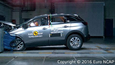 Peugeot 3008: Euro NCAP Crashtest 2016