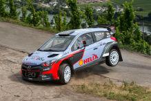 Rallye: Mitfahrt im Hyundai i20 WRC