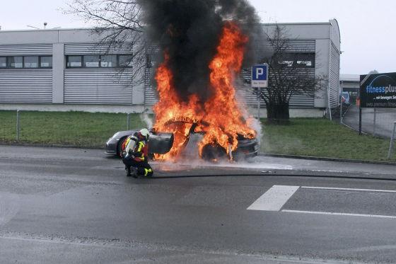 Diese Supercars sind Feuer und Flamme